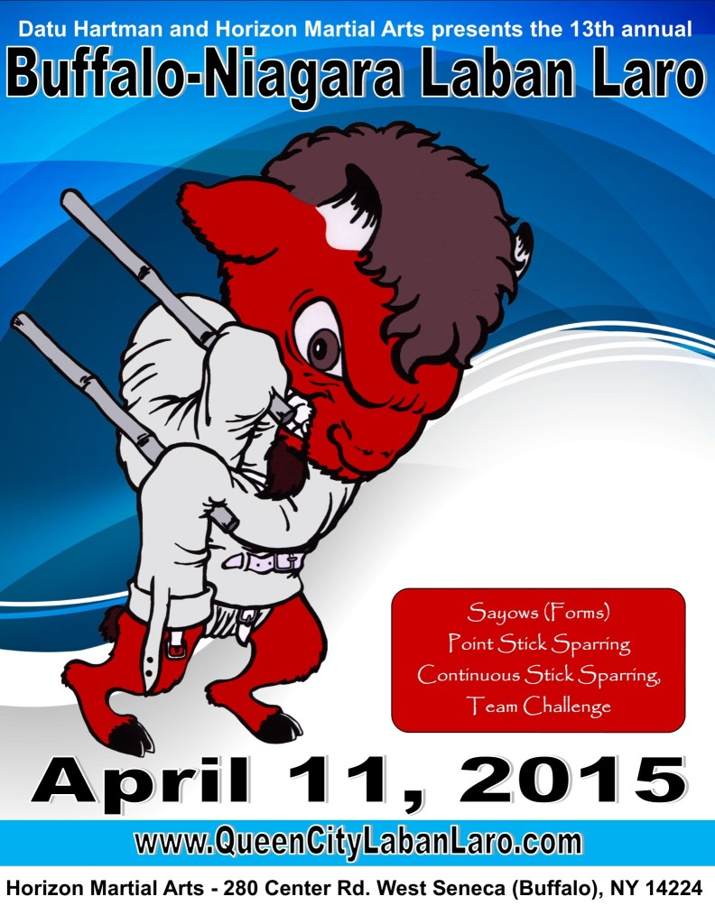 Buffalo - Niagara Laban Laro Stick Fighting @ Horizon Martial Arts | West Seneca | New York | United States