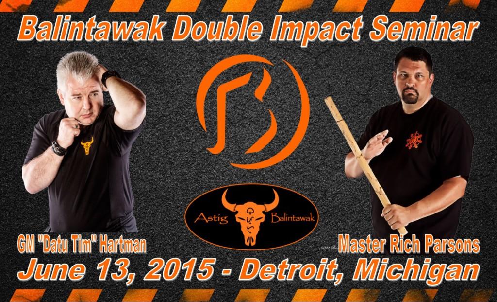 Balintawak Double Impact Seminar @ Detroit | Michigan | United States