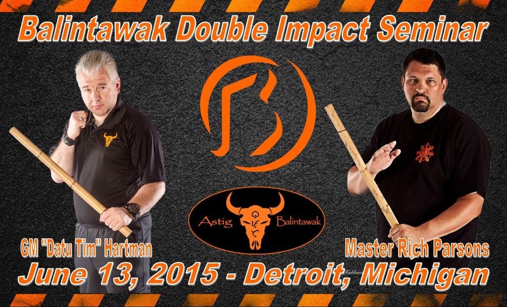 Balintawak Double Impact Seminar @ Guardian Martial Arts | Garden City | Michigan | United States