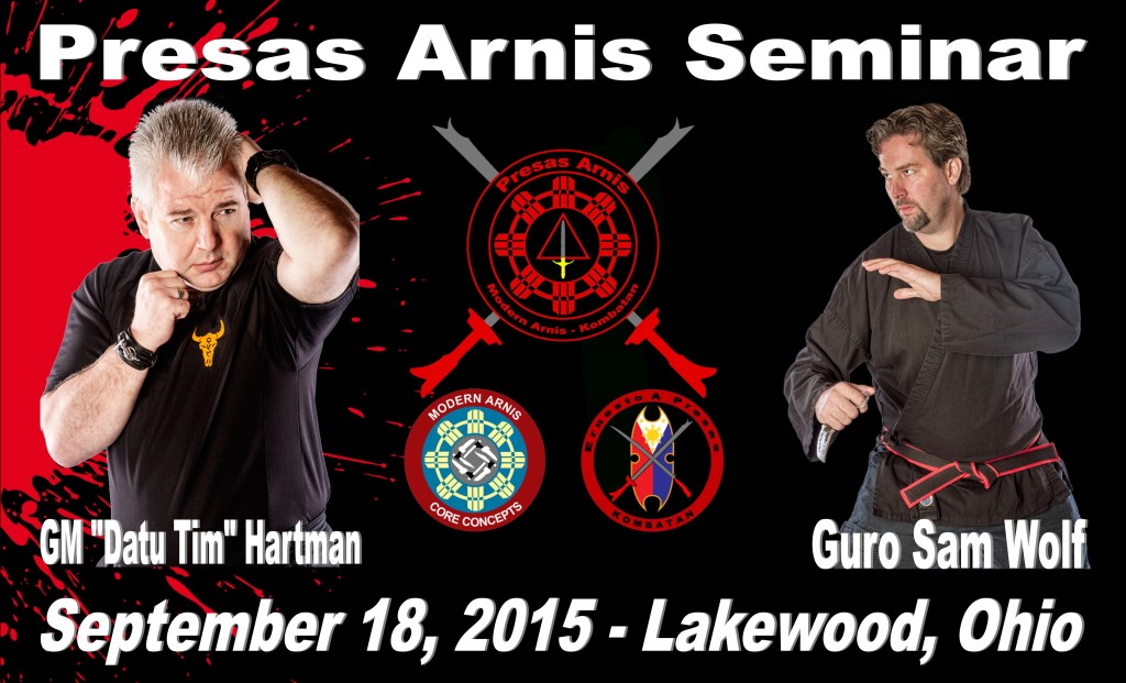 "GM ""Datu Tim"" Hartman & Guro Sam Wolf Seminar @ Fusion Martial Arts Center  