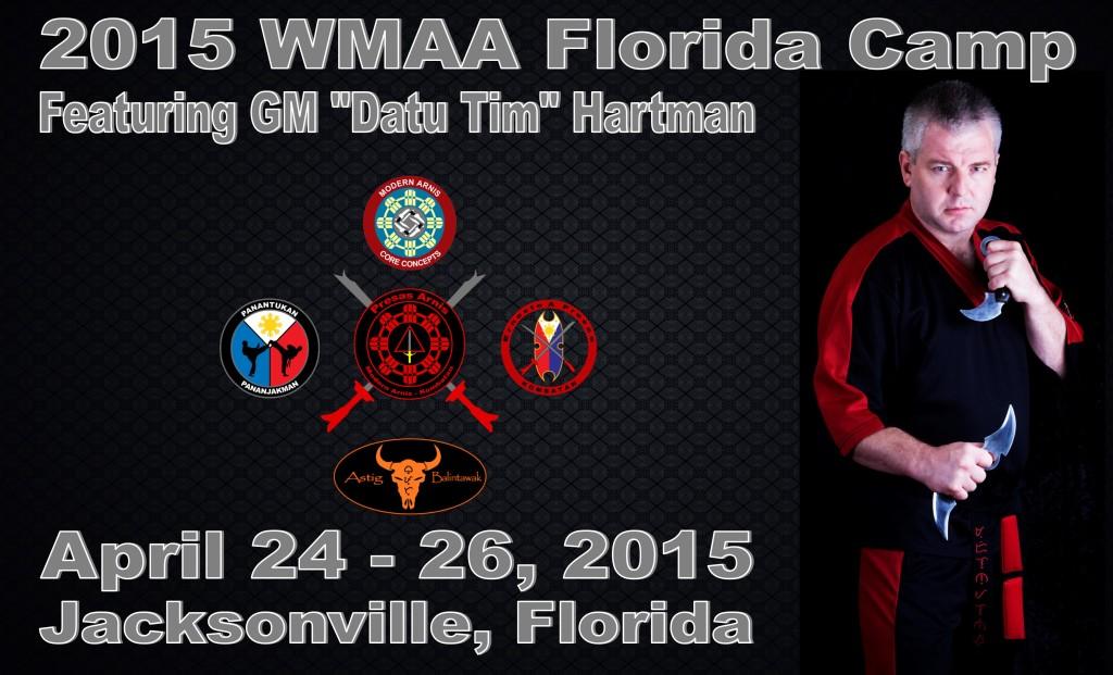 WMAA Florida State Arnis Camp @ Pak's Karate of Oceanway | Jacksonville | Florida | United States