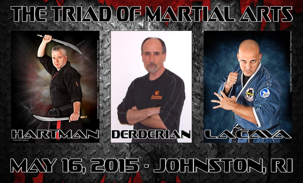 """The Triad"" of Martial Arts Seminar @ Derderian Academy-Martial Arts 