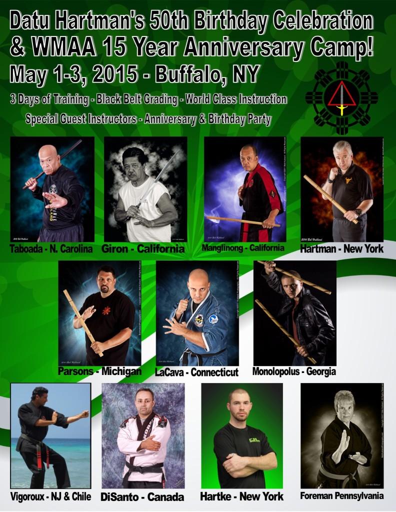 Datu Tim's 50th Birthday & WMAA 15th Anniversary Camp @ Horizon Martial Arts | West Seneca | New York | United States