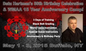 Datu Tim's 50th Birthday & WMAA 15th Anniversary Camp @ Horizon Martial Arts | West Seneca | New York | United States
