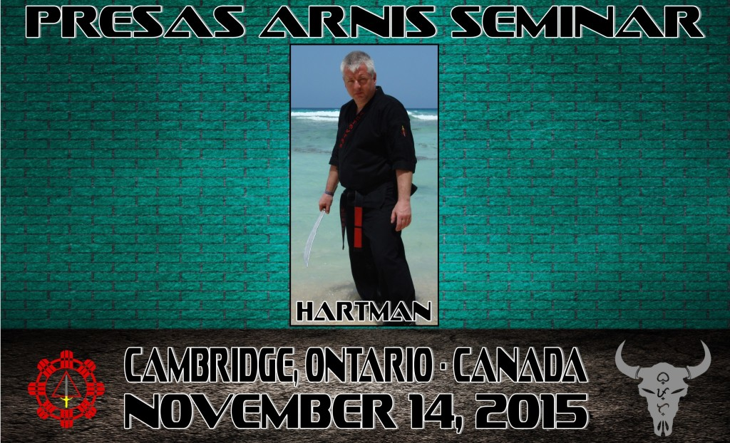 Presas Arnis Seminar @ Cedar Creek Karate for Christ | Cambridge | Ontario | Canada