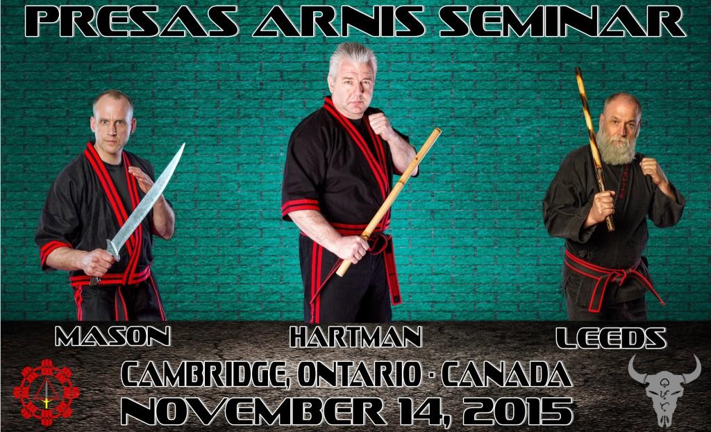Presas Arnis Seminar @ Cedar Creek Karate for Christ | Cambridge | Ontario | Canada