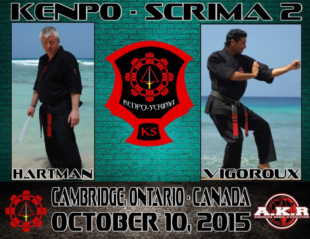 Kenpo – Scrima 2 @ Cedar Creek Karate for Christ | Cambridge | Ontario | Canada