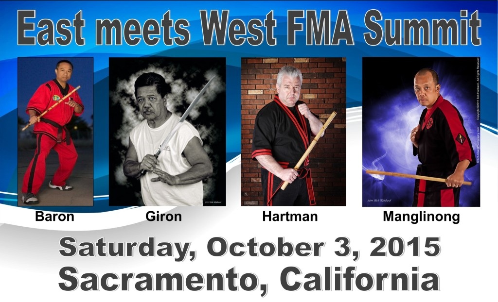 East meets West FMA Summit @ Filipino Martial Arts Academy | Sacramento | California | United States