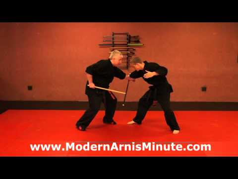 "Modern Arnis Minute #17 – The ""Drop Block"""