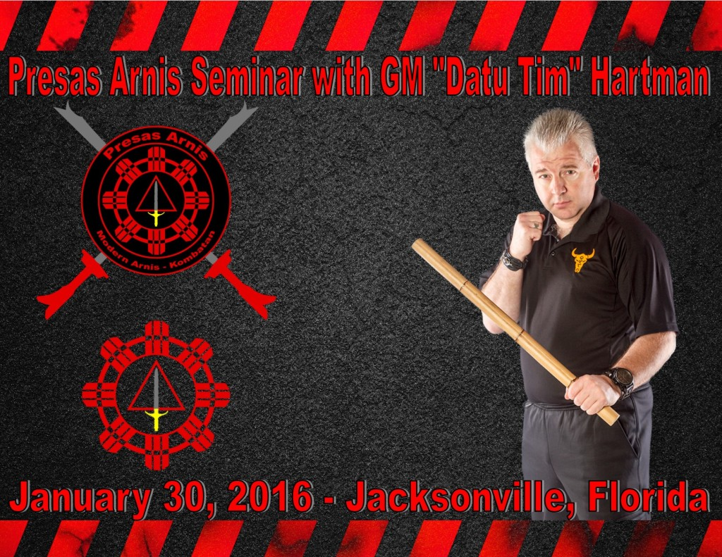 Presas Arnis Seminar w/ Datu Hartman @ Pak's Karate of Oceanway  | Jacksonville | Florida | United States