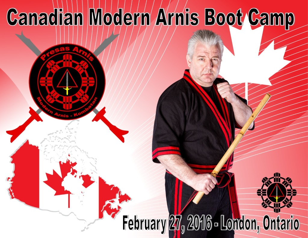 Canadian Modern Arnis Boot Camp @ Pure Energy Fitness  | London | Ontario | Canada
