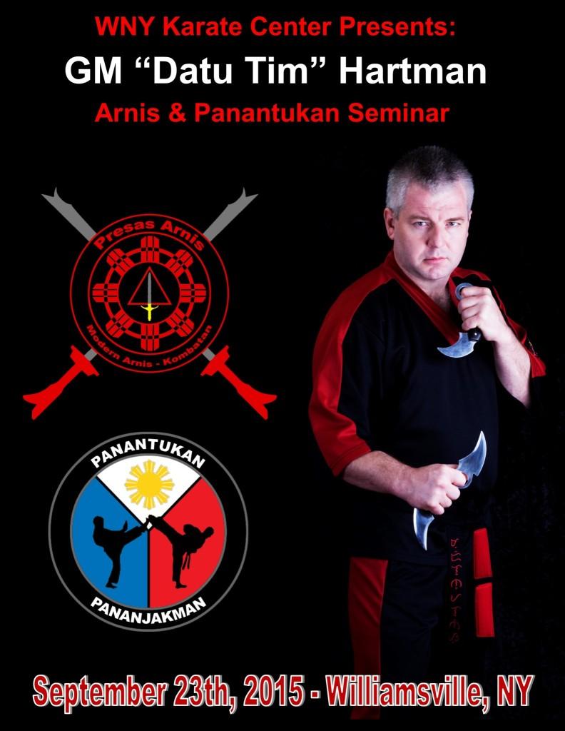 Datu Hartman - Arnis & Panantukan Seminar @ WNY Karate Center | Buffalo | New York | United States