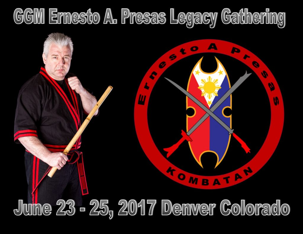 GGM Ernesto A. Presas Legacy Gathering @ Kapatiran Mandirigma Headquarters  | Fort Collins | Colorado | United States