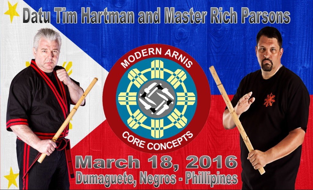 Datu Hartman and Master Parsons to teach at the 8th FMA festival @ Private Residence VIP Resort Lipayo | Dauin | Central Visayas | Philippines