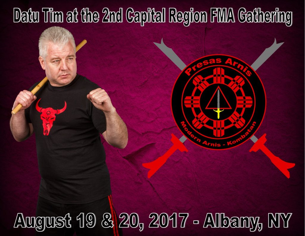Datu Tim teaches at the 2nd Capital Region FMA Gathering @ Capital District Martial Arts Center  | Delmar | New York | United States