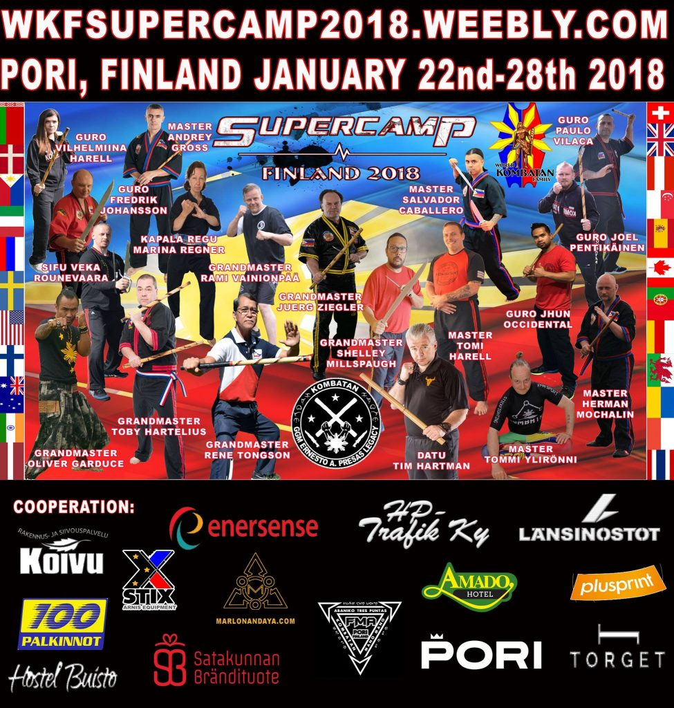 WKF Super Camp @ ​Youth Center of PORI | Pori | Finland