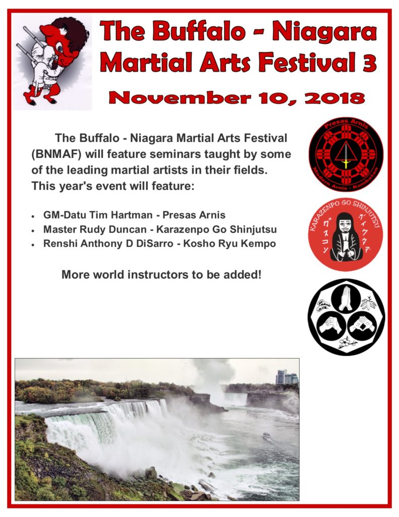 Buffalo-Niagara Martial Arts Festival 3 @ Horizon Martial Arts | West Seneca | New York | United States