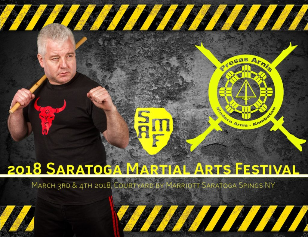 Datu Hartman to teach at the Saratoga Martial Arts Festival @ Courtyard by Marriott Saratoga Springs 11 Excelsior Ave, Saratoga Springs, | Saratoga Springs | New York | United States