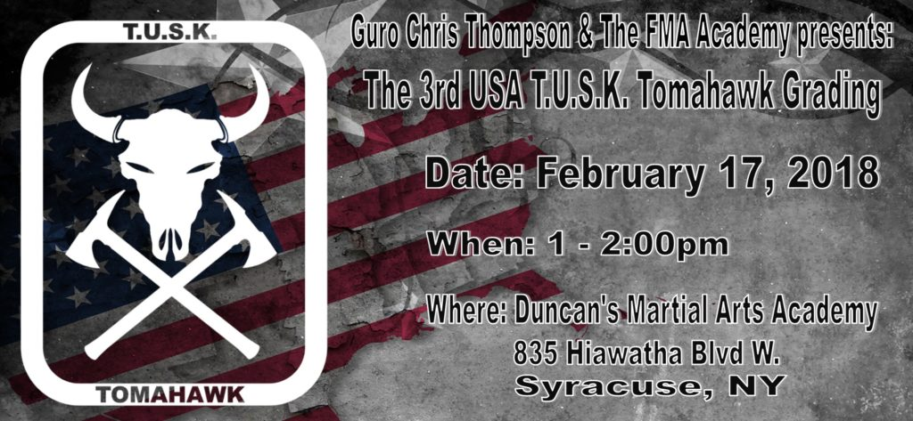 Tusk Tomahawk Grading @ Duncan's Martial Arts Academy  | Syracuse | New York | United States