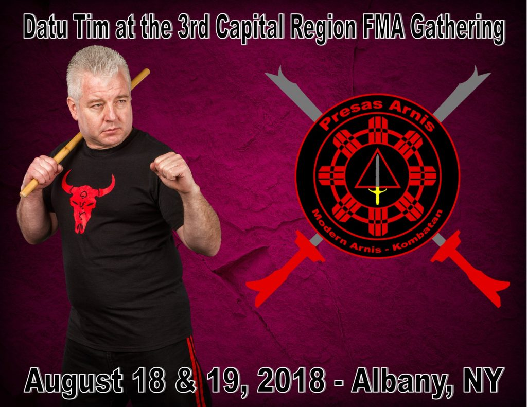 Datu Tim to teach at the 3rd Capital Region FMA Gathering @ Capital District Martial Arts Center @ Capital District Martial Arts Center | Delmar | New York | United States