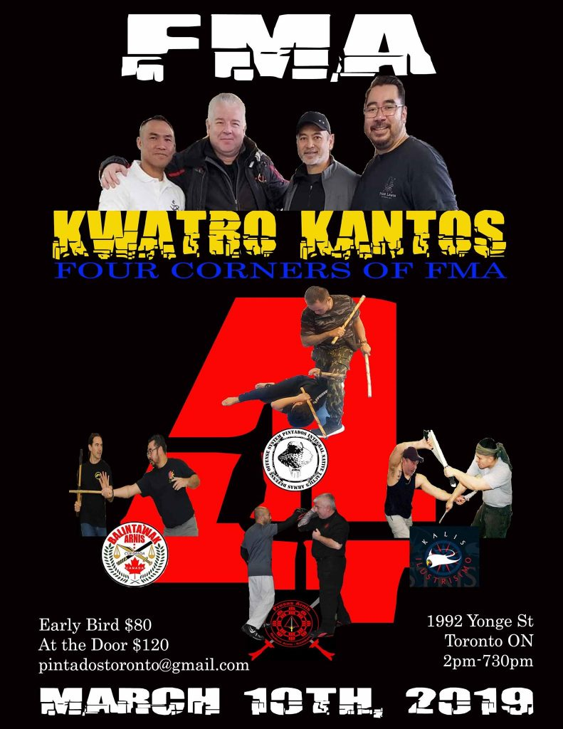 FMA Kwarto Kantoa - 4 Corners of FMA @ Toronto Kickboxing & Muay Thai (TKMT) Academy Inc.