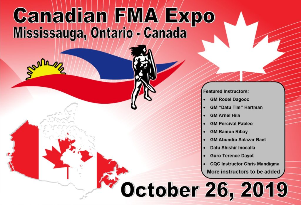 Canadian Filipino Martial Arts Expo