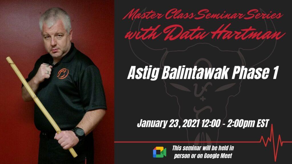Astig Balintawak Seminar – Phase 1 @ Horizon Martial Arts